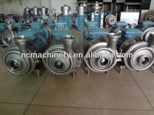 Food sanitary stainless steel ABB motor centrifugal pump