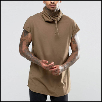 166e957358860 Custom Summer Tops High Quality 100% Cotton Man T-Shirt Without Sleeves