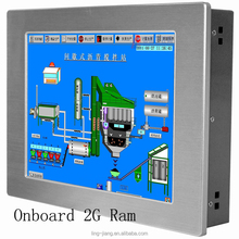 "high performance 12.1"" full water-proof IP65 industrial touch screen panel pc"