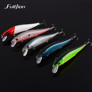 Fishing Lures Artificial Wobblers Hard Floating Crankbait Minnow Winter Fishing Tackle Plastic Pesca Isca 3D Eyes Baits 14cm 23g