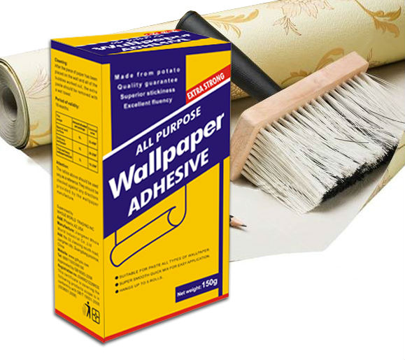 convenient to use diy wallpaper <strong>adhesive</strong>