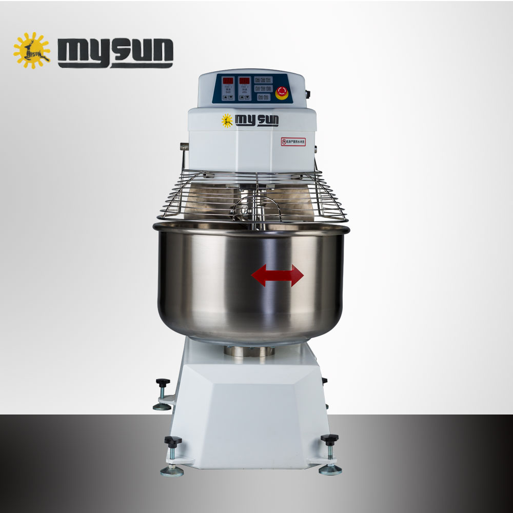 CE proved automatic bakery equipment/cake baking flour 25kg spiral dough food mixing machine for sale