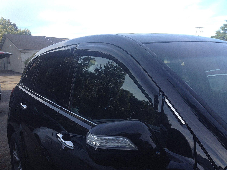 Buy JSP Acura ILX Side Window Deflector Rain Guard - Acura ilx window visors