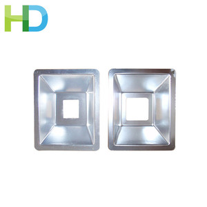 Antique types grow led panel light housing reflector