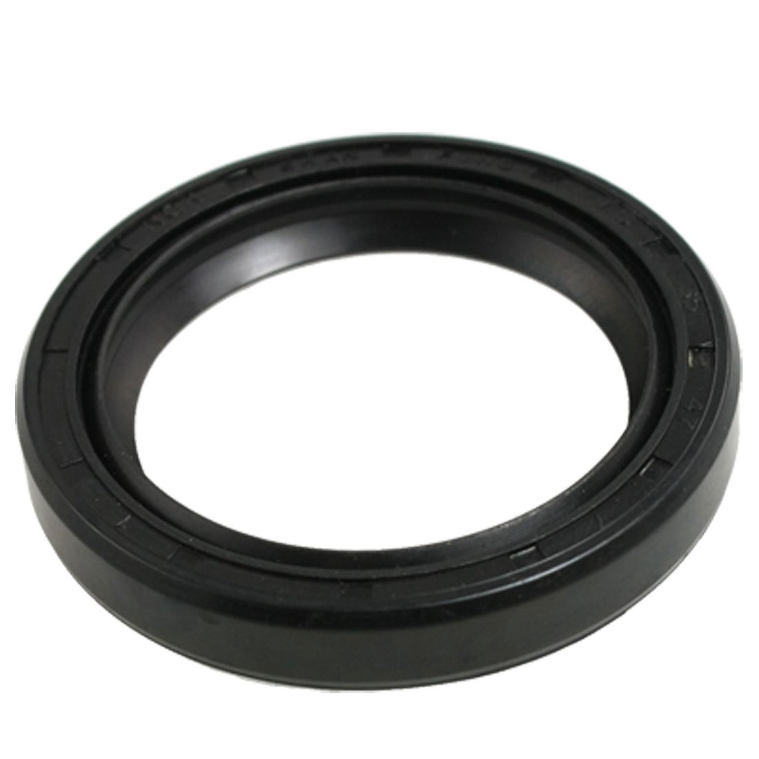 uxcell Steel Spring Double Lip PU Engine Oil Shaft Seal TC 12mm x 25mm x 5mm