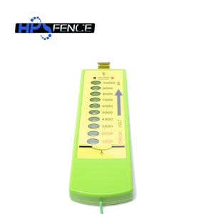New type for fence wire 1000V-10000V plastic electric LED fence tester supplier