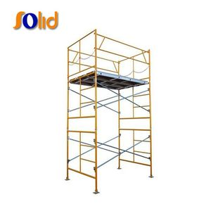 Types of used construction scaffolding for prices