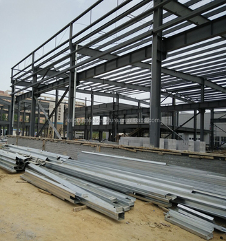 Steel structure roof truss and low cost of warehouse for Roof framing cost