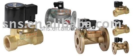 SNS Solenoid brass gate solenoid control engine ball electric check Valve,Control Valve