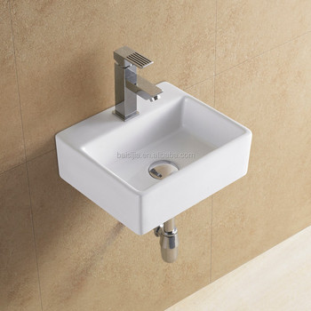 Captivating Ceramic Mini Small Wash Basin/ceramic Sink/bathroom Sink(BSJ A8038)