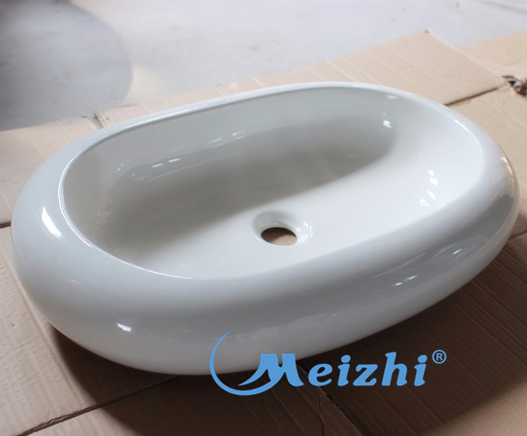 Table mounted bathroom ceramic philippines basin