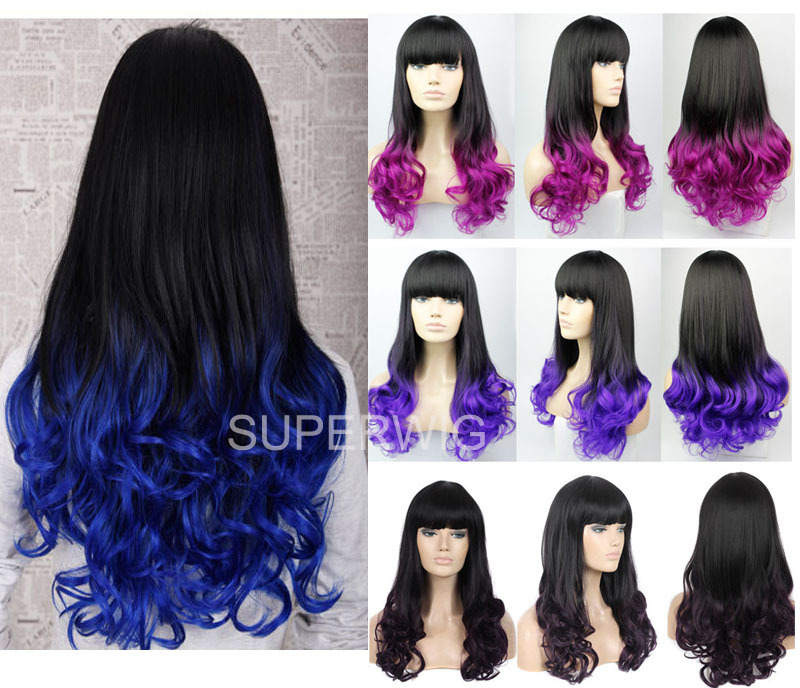 blue and purple wavy - photo #23