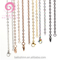 20 pcs / lot 80 cm stainless steel chain for floating glass locket