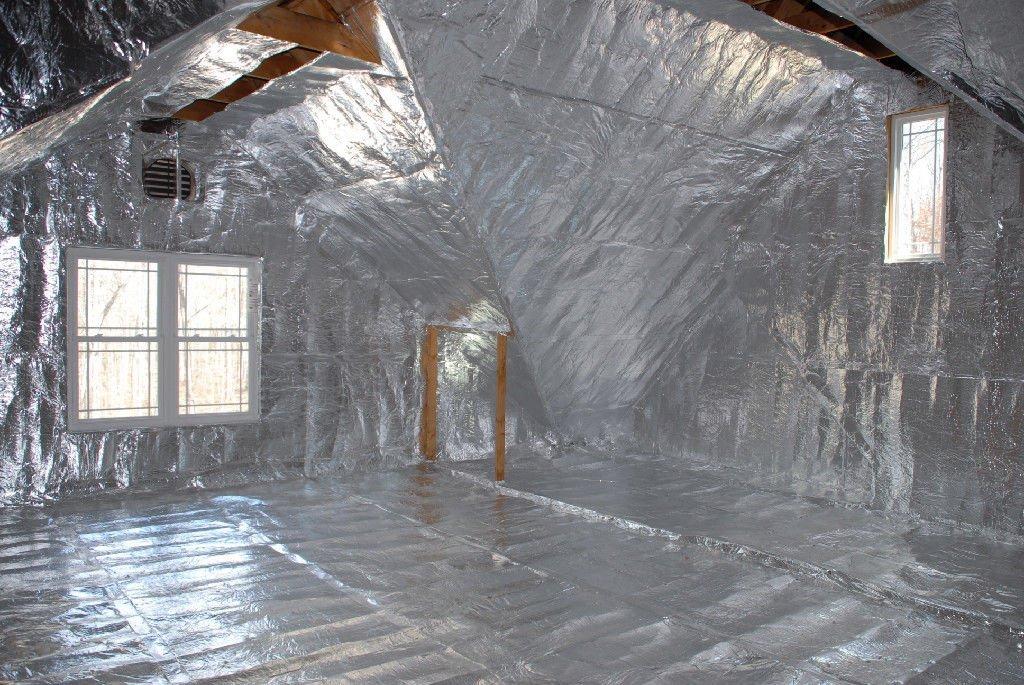 1000 sqft of 1/4 inch Solid White NASA Tech Heavy Duty Platinum Reflective Foam Core Reflective Insulation Solar Guard