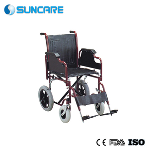 detachable armrest foam castor and mag wheel Manual steel manual wheelchair manufacturer
