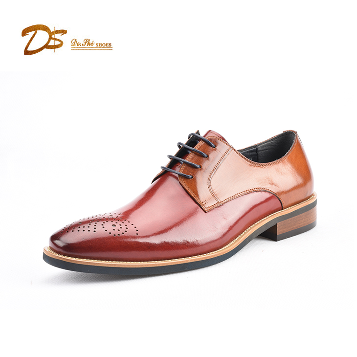 shoes men leather genuine shoe dress guangzhou shoes leather dress factory Italian qxOZAnERq8