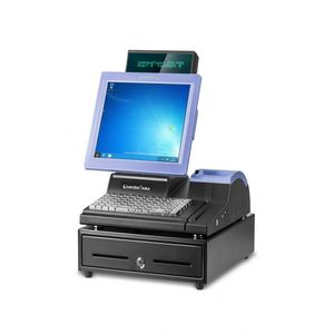 IPOS09 12 inch POS Point of Sale System With Thermal Printer For Retail Boutique Shop