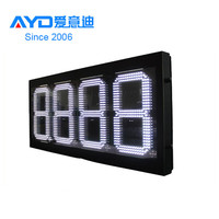 USA High Quality Hot Sale 16inch 889/10 Electronic Digital Gas Price Sign Supplier
