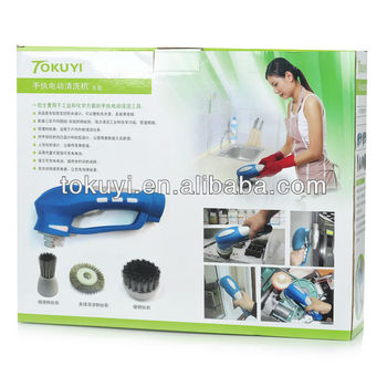 Best Tool For Home Clean Electric Bathroom Cleaning Brush Cordless Electric Power Long Handle