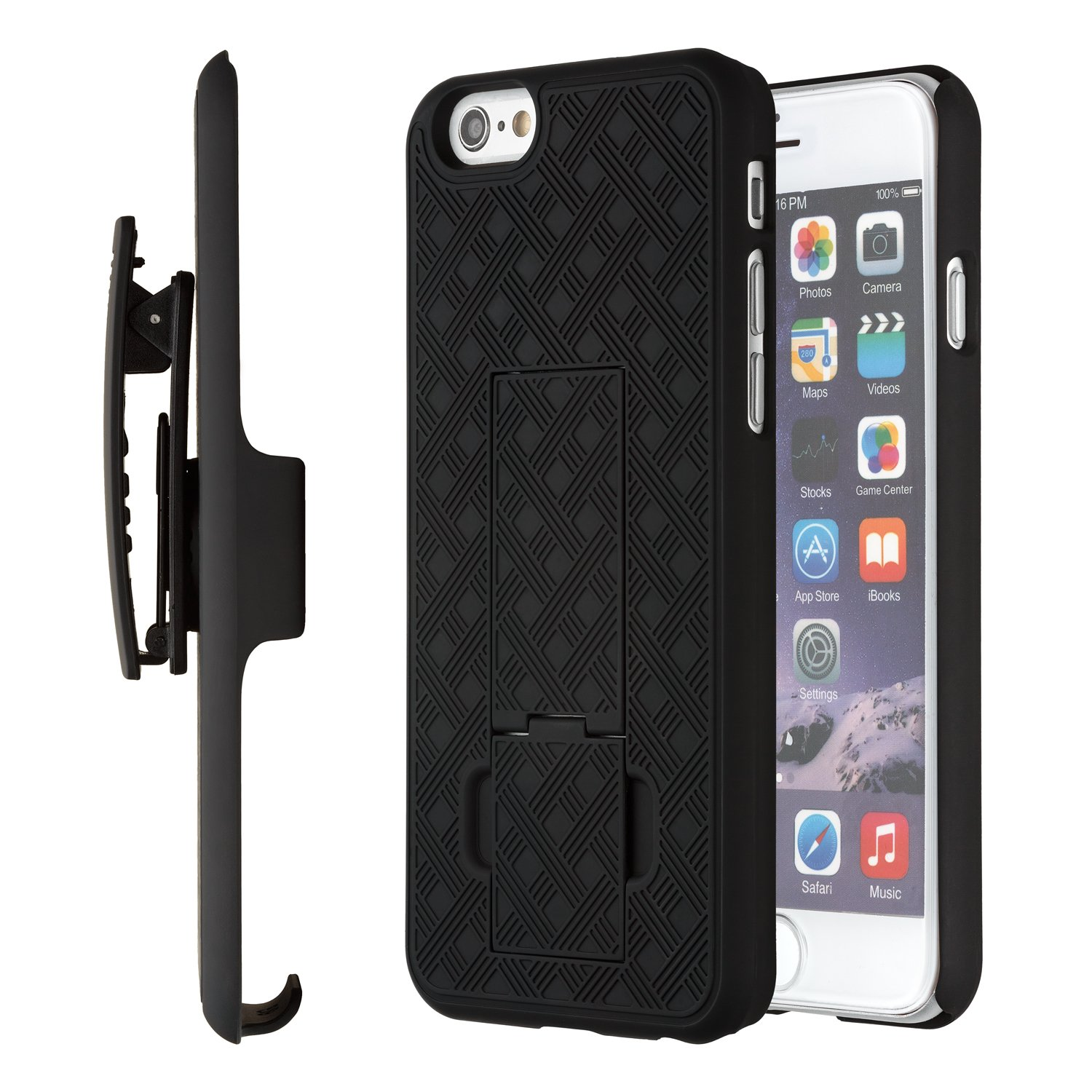 Cheap Pro Clip Iphone 4 Find Deals On Line At Case 5 5s 5se Kickstand Series Blackblack Get Quotations 6s Moona Shell Holster Combo For Apple 6 47