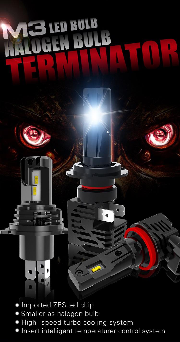 9004 HB1 Headlight High Low Beam LED Bulb for Dodge Ram 2500 Van 1999-2003