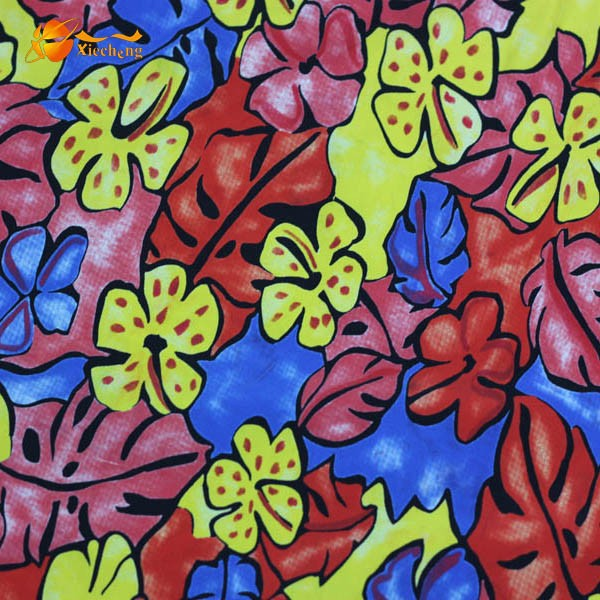 lycra printed pattern swim wear fabric