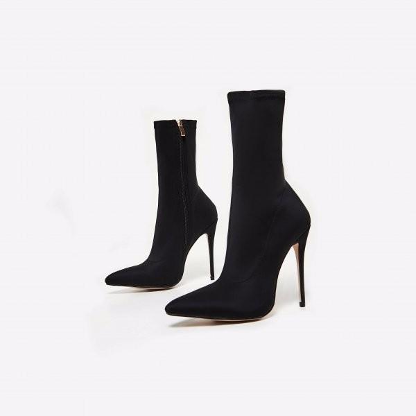 Ladies Stiletto Sock Booties Stylish