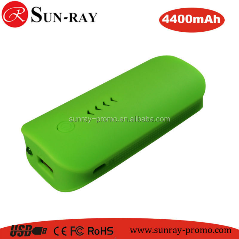 Multifunction 18650 feather Powerbank with led torch 4400mah for smartphone