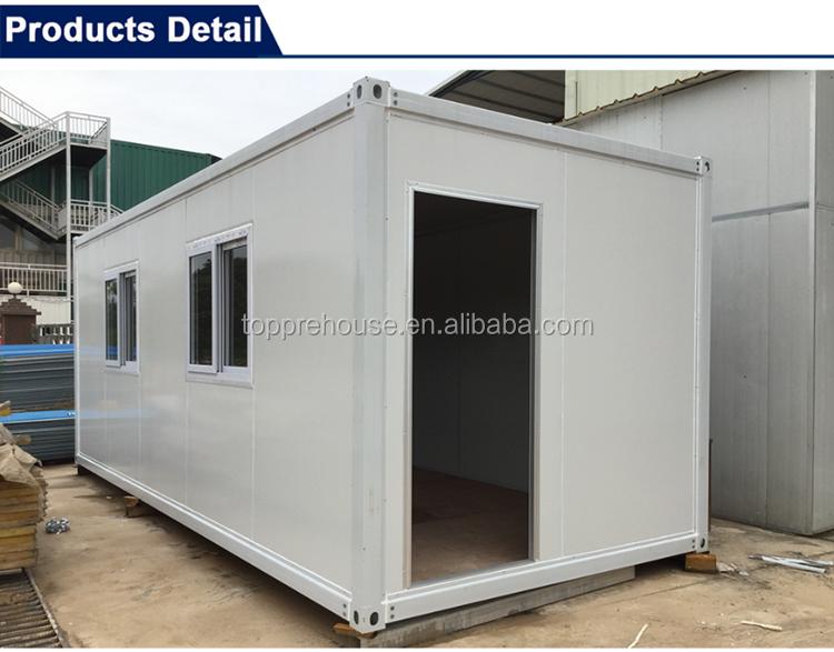 20ft Marine Container Tragbare Büro Gehäuse Einheit Normalen Moderne Haus  Design Verkauf In Den Philippinen