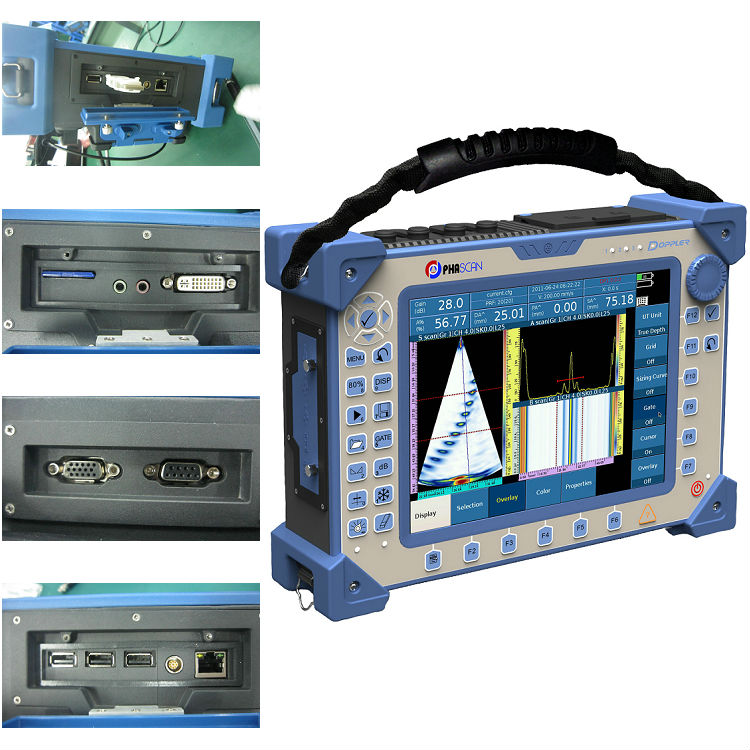 Phased array ultrasonic non destructive testing instruments