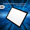 Acrylic Panel Dimmable Ultra Thin LED Light Tattoo Copy Board A3 LED