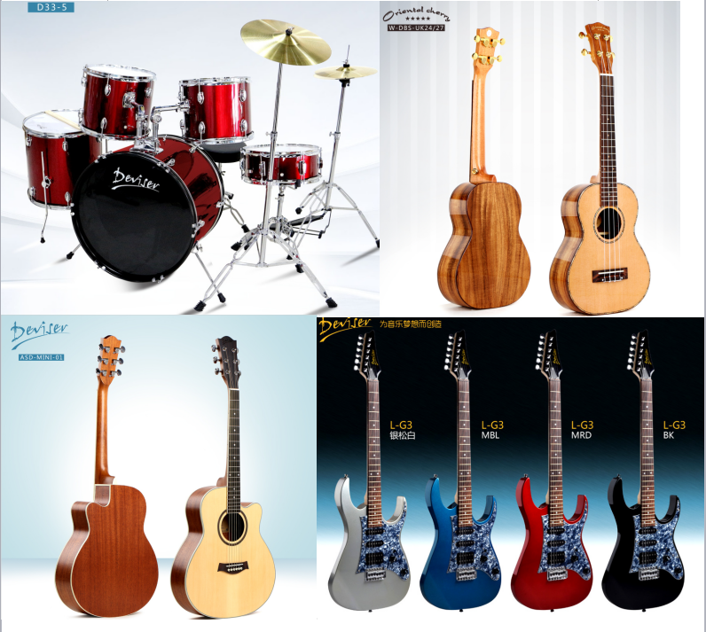 41inch cheap price hot sales excellent sound 12 string electric guitar made in china for Beginner