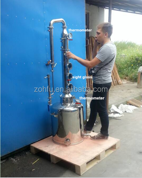 Hot sale home distilling equipment/beer brewing equipment