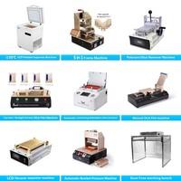 Best selling 5 in 1 vacuum oca laminating machine autoclave + bubble remover + vacuum pump + air compressor for iphone w