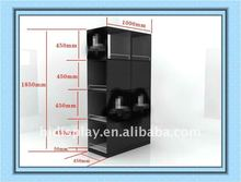Multifunction Wall Display Stand Metal Clothes Cabinets Metal Clothes Cabinet