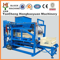 Sand lime QTJ4-18 brick making machine /cement stone brick making price from Real factory