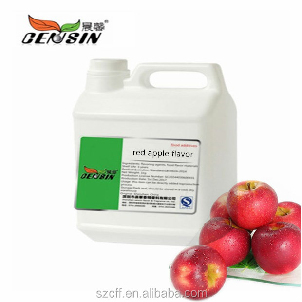 Concentrated Flavouring Red Apple Flavor Essence Liquid