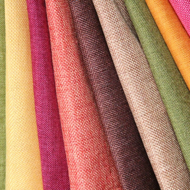 Linen Curtain Fabric For Bedding And Curtains