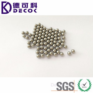 5mm 7mm 9.5mm Diameter Ball Bearing Ball