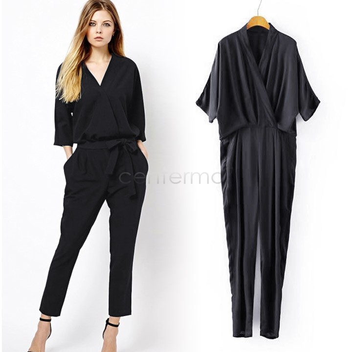 Cheap Black Jumpsuits And Rompers For Women, find Black Jumpsuits ...