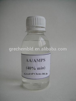 AA/AMPS cas no. 40623-75-4 scale inhibitor and dispersant on high concentration index