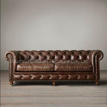 Clic Sofa Violino Leather
