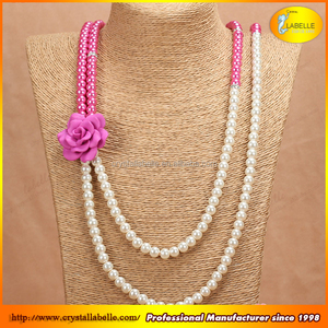 Bright Shinny Crystal Glass Imitation Pearl Bead For Jewlery Accessories