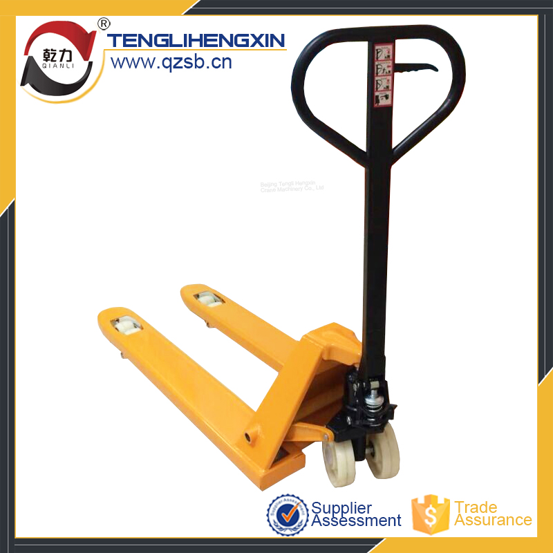 2500kgs China hand pallet truck with brake model SBB