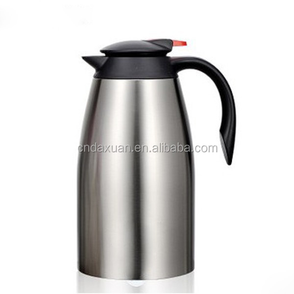 1l Plastic Vacuum Coffee Pot Thermos Coffee Tea Pot