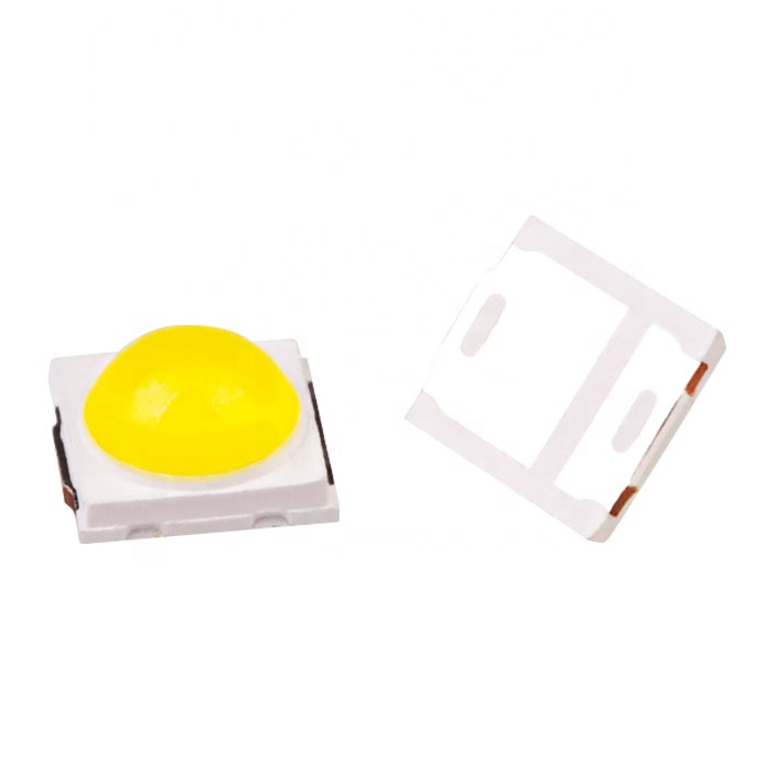 sun smd uv led  0.5 W 5050  5054  365nm and 395nm double chips for  gel  uv led nail printer curing lamp