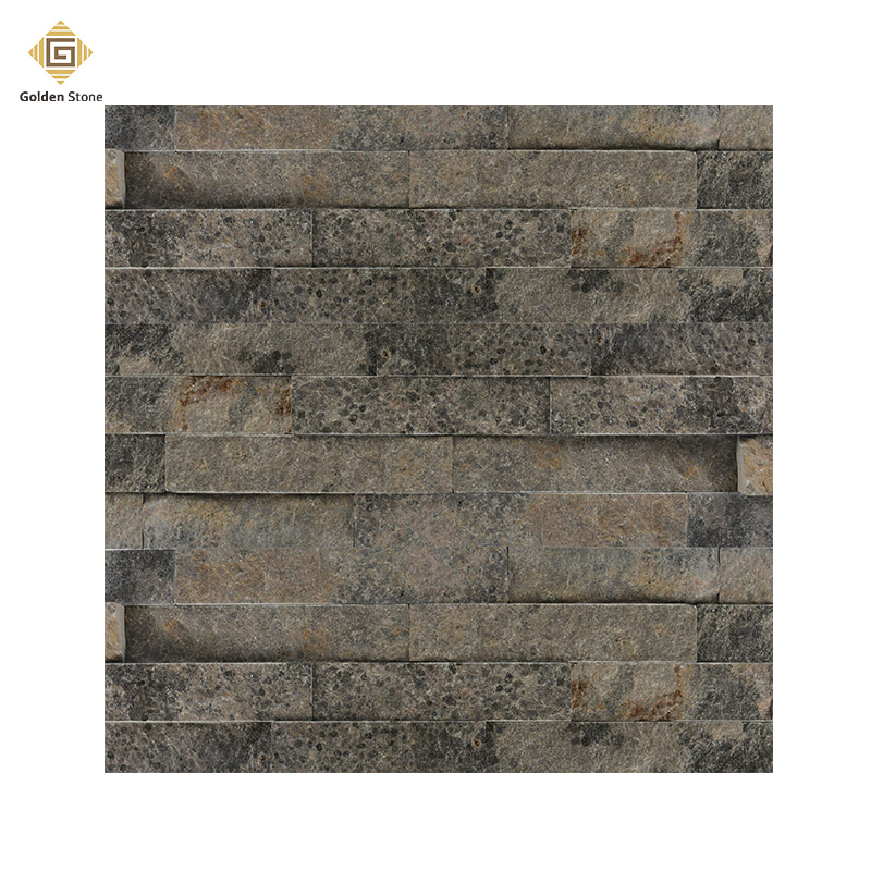 New products split granite wall stone on grey color