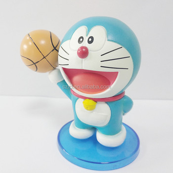 Personalized pvc Doraemon toy plastic cartoon pvc vinyl figure factory