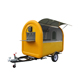 High quality and low price hot dog trailer ice cream roll cart business franchise