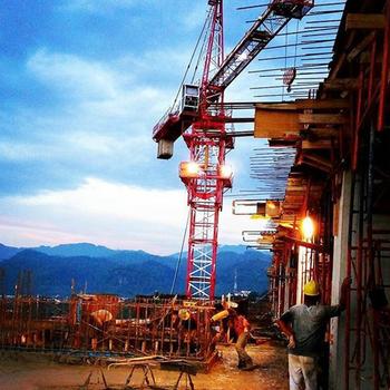 tower crane manufacturer price qtz63 china hammerhead fixed tower